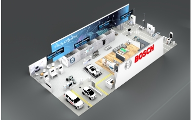 Bosch press conference at CES 2018 (Credit: Bosch)