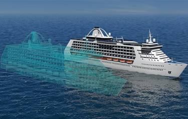 Launch of Open Simulation Platform for creating new ships (Credit: Rolls-Royce)