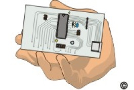 Fig.3: Always handle circuit boards by the edges – Image via Circuit Technology Centre