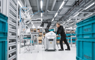 Festo - Human-robot collaboration in Industry 4 0