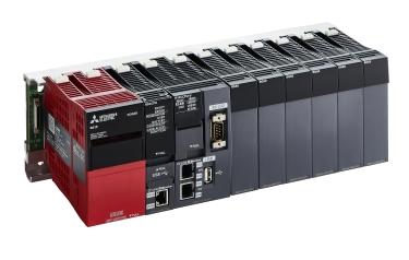 Mitsubishi Electric's MELSEC iQ-R PLC now offers an innovative safety module option which provides the performance and integrity of a separate safety PLC but without the added cabinet space. (Image: Mitsubishi Electric Europe B.V.)